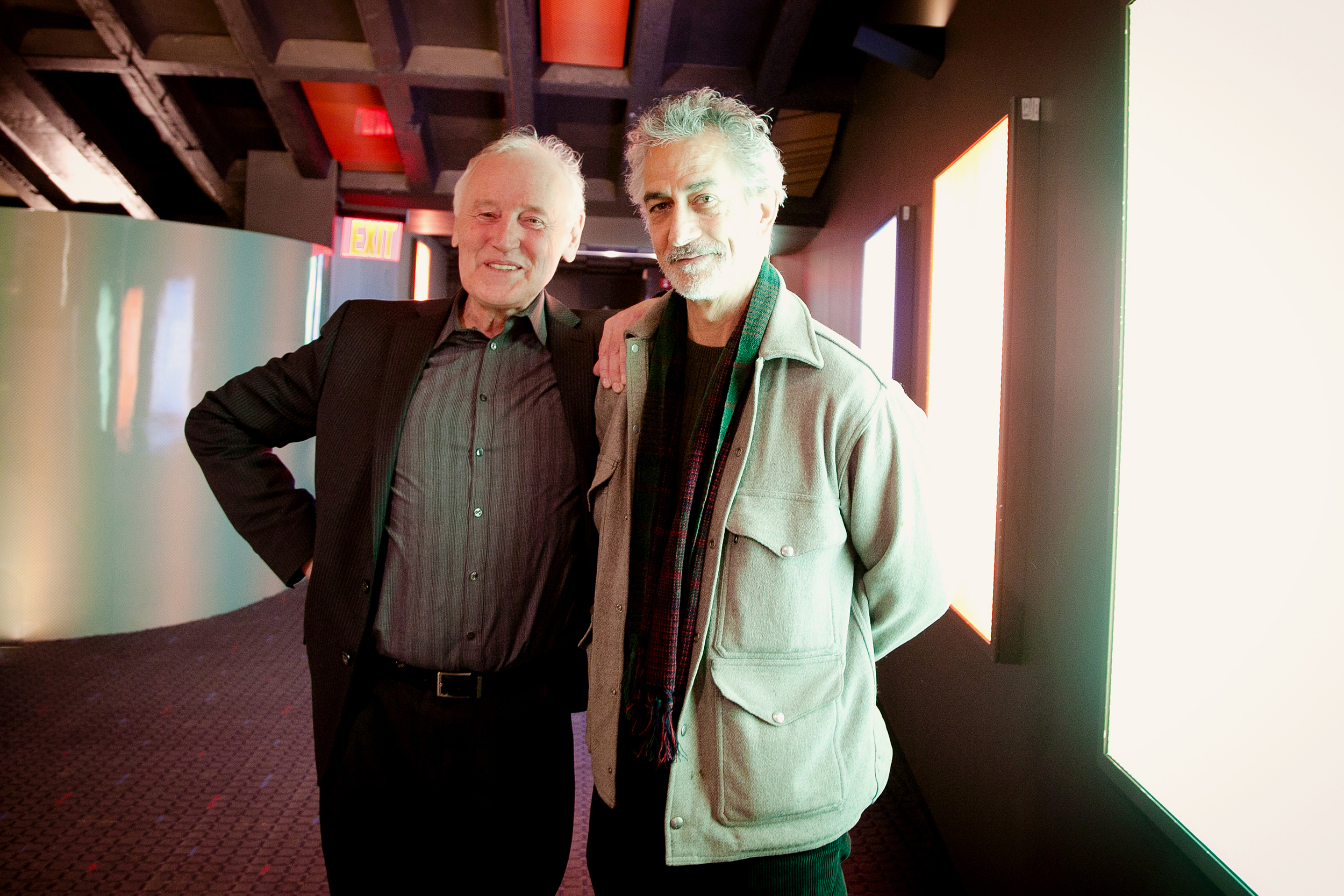 Lehmann Reeves & David Strathairn