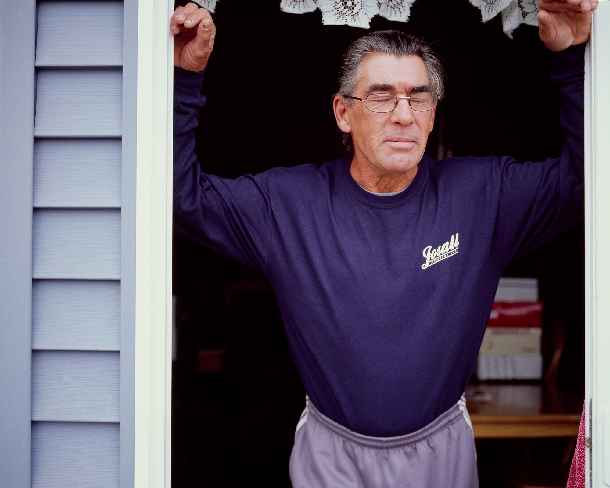 Kevin in the Doorway