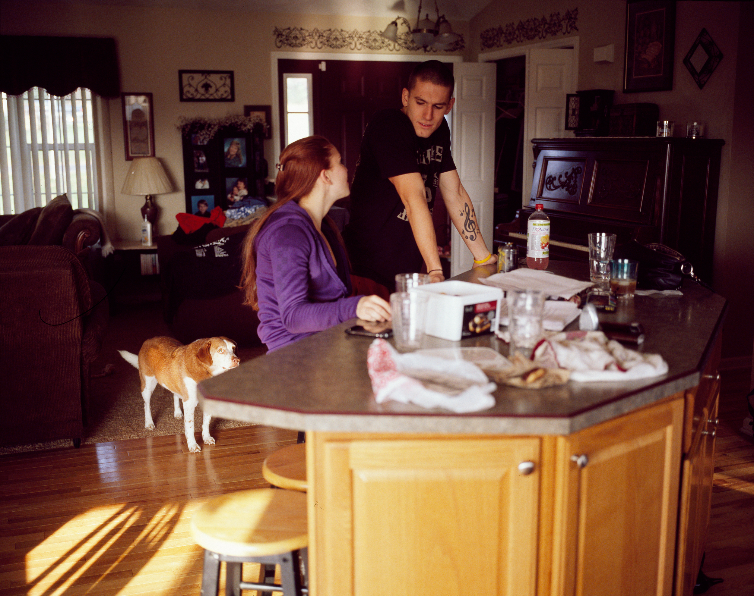 Ben & Brittany in the Kitchen