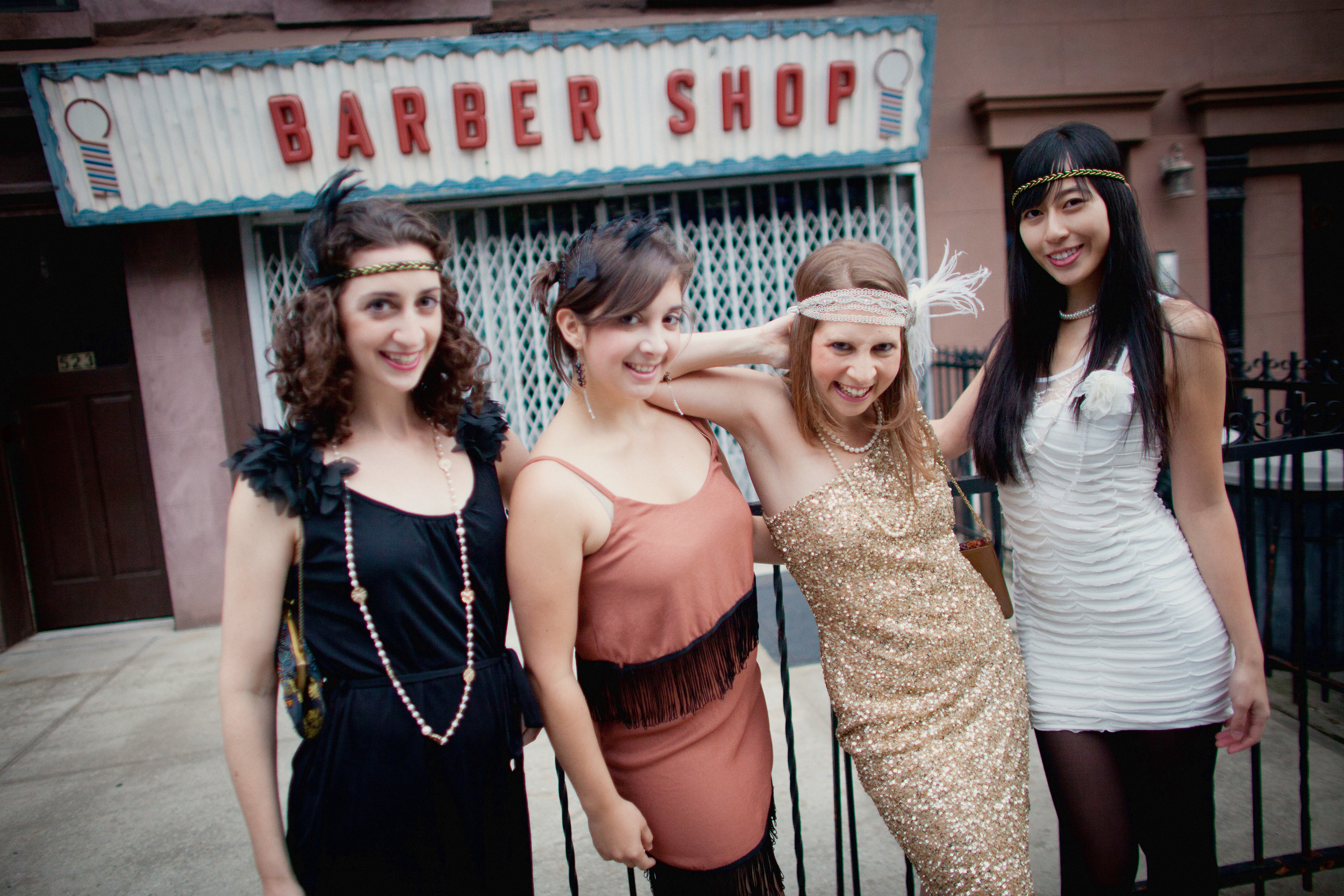 1920s Themed Bachelorette Party Brooklyn, New York, 2012