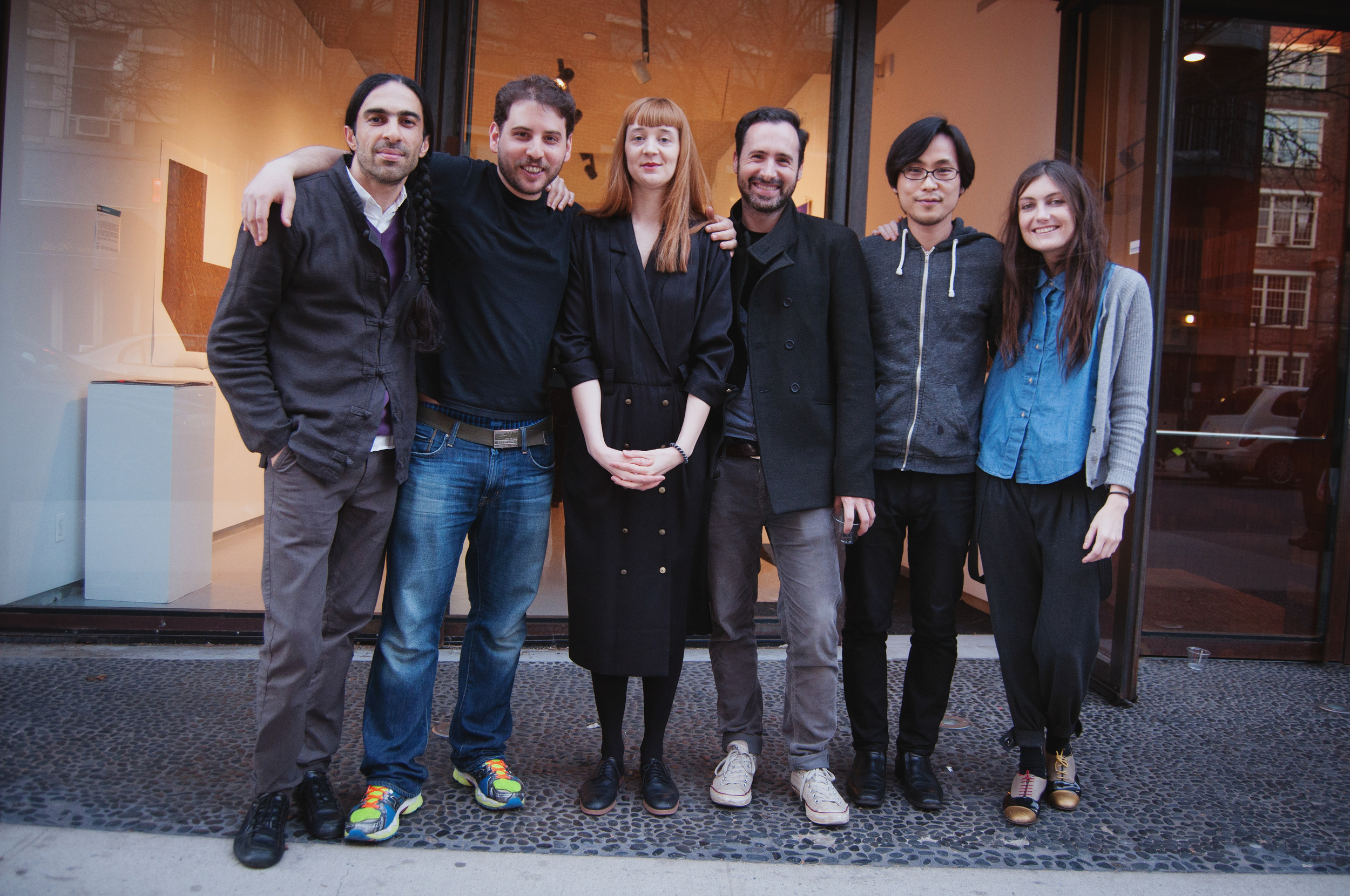Vincent Bezuidenhout, Nima Chaichi, Nobushige Kono, Gil Lavi, Mariel Lebrija, and Anna Orlowska: Participants in the Photoglobal Program