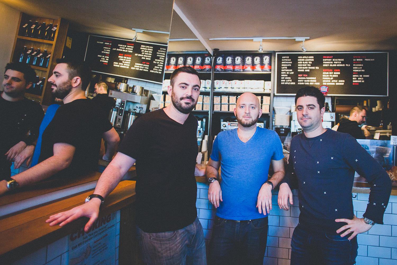 Sam Nidel, Matt Mogil, and Brett Nidel