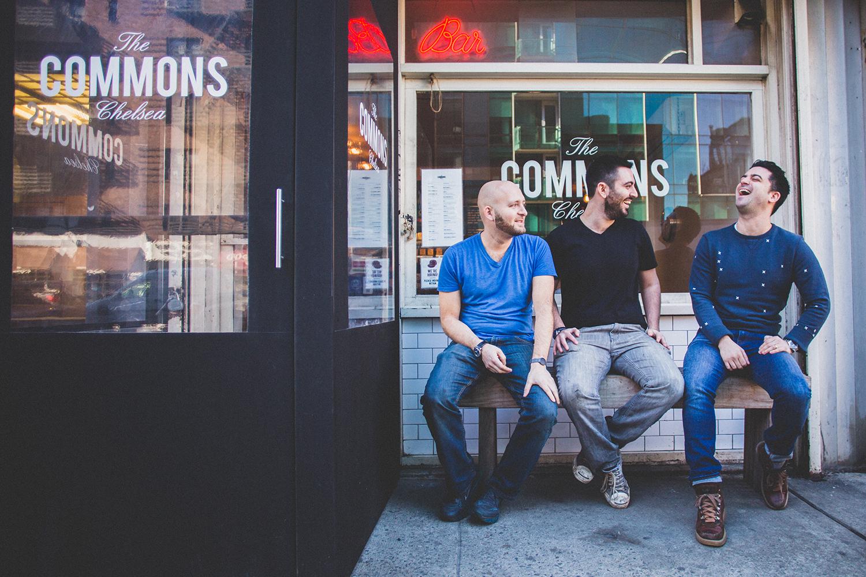 Matt Mogil, Sam Nidel and Brett Nidel