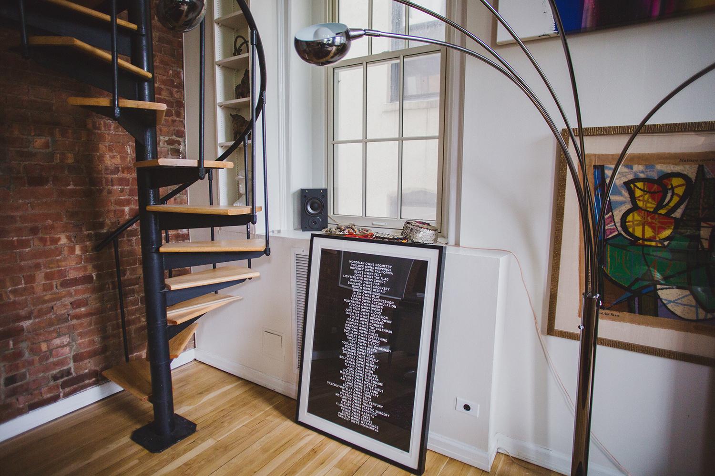 Michael Phillips Moskowitz's Apartment