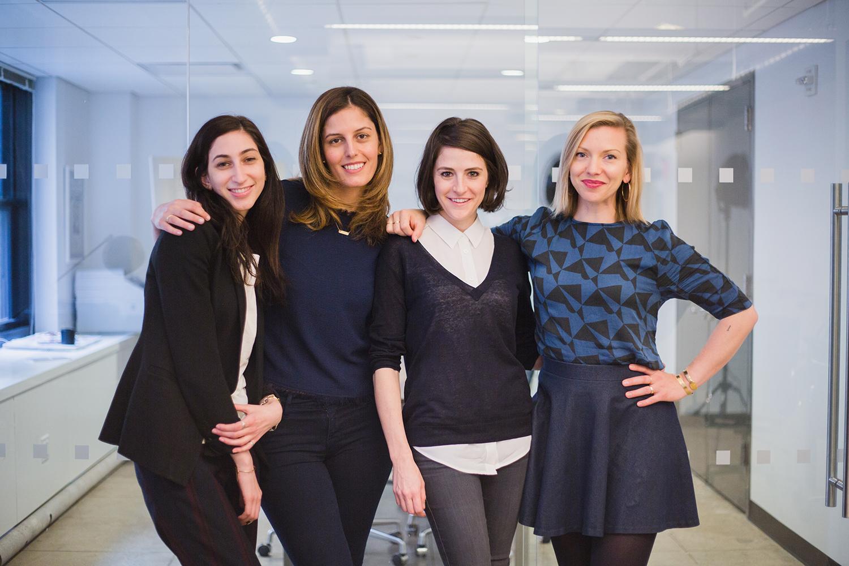 Navah Rosenbaum, Soraya Darabi, Maxine Bédat, and Elizabeth Carey Smith