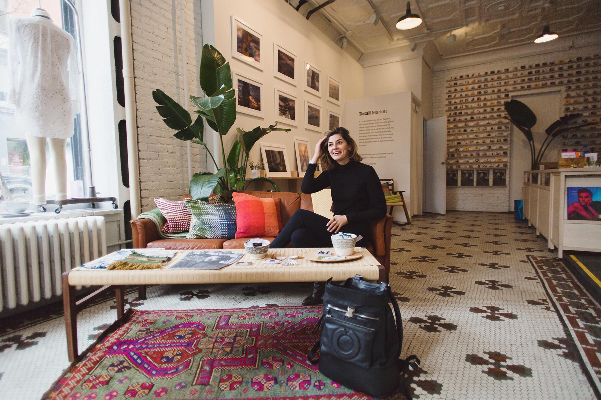 Briana Feigon at Tictail