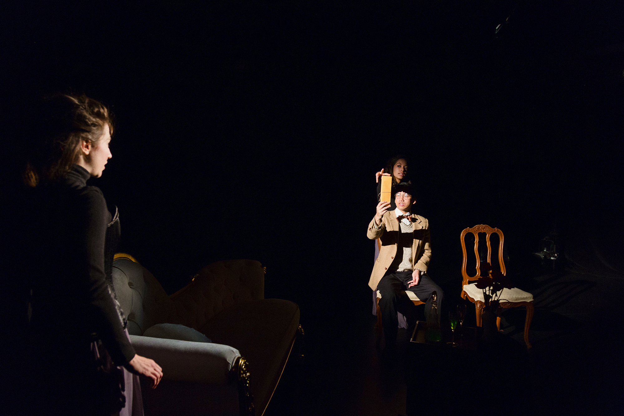 Marielle Renée Rousseau, Tim Liu, Maggie Thompson