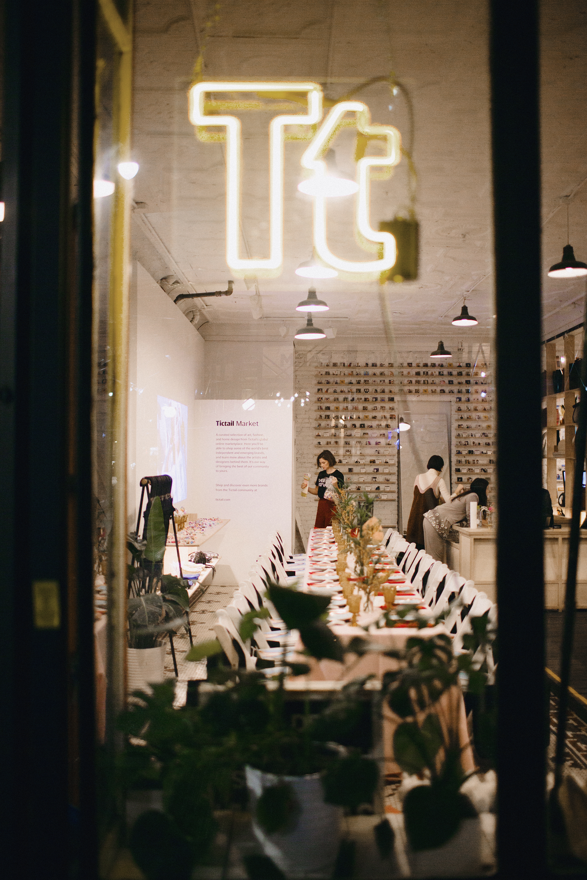 Tictail Press Dinner  Tictail  NYC Store, New York, 2017