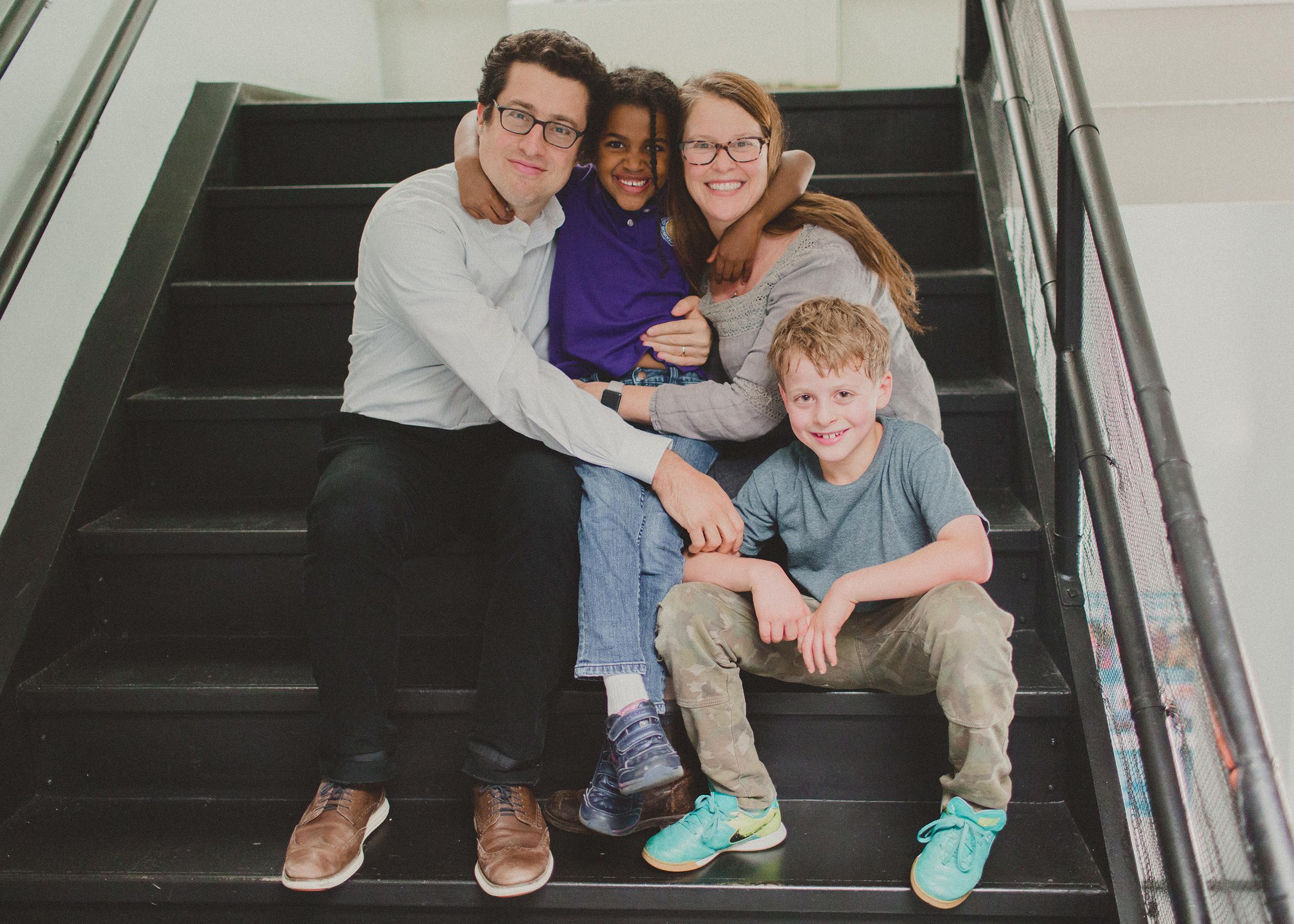 Lewis & Sabrina with Kids, Tessa & August