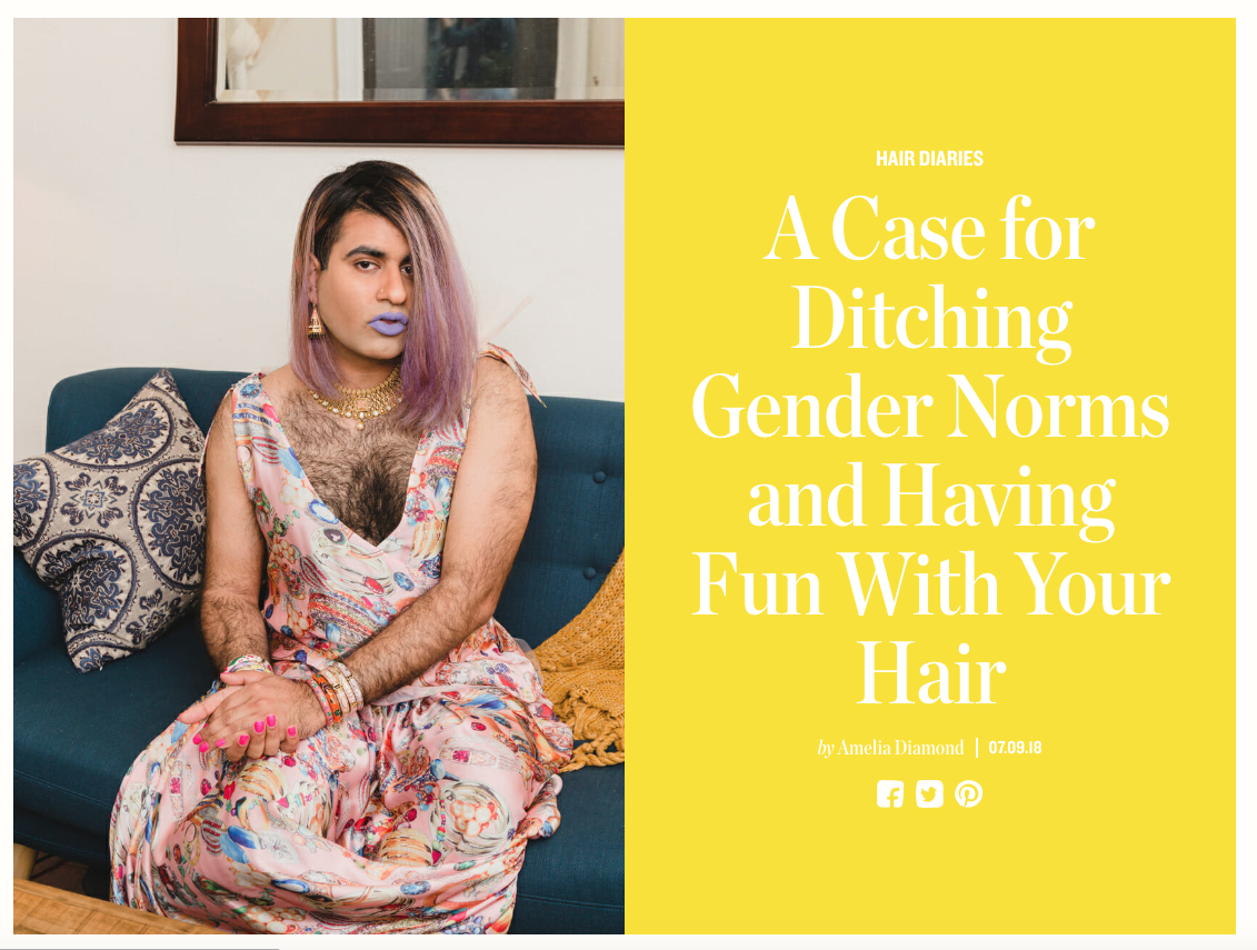 A Case for Ditching Gender Norms and Having Fun With Your Hair