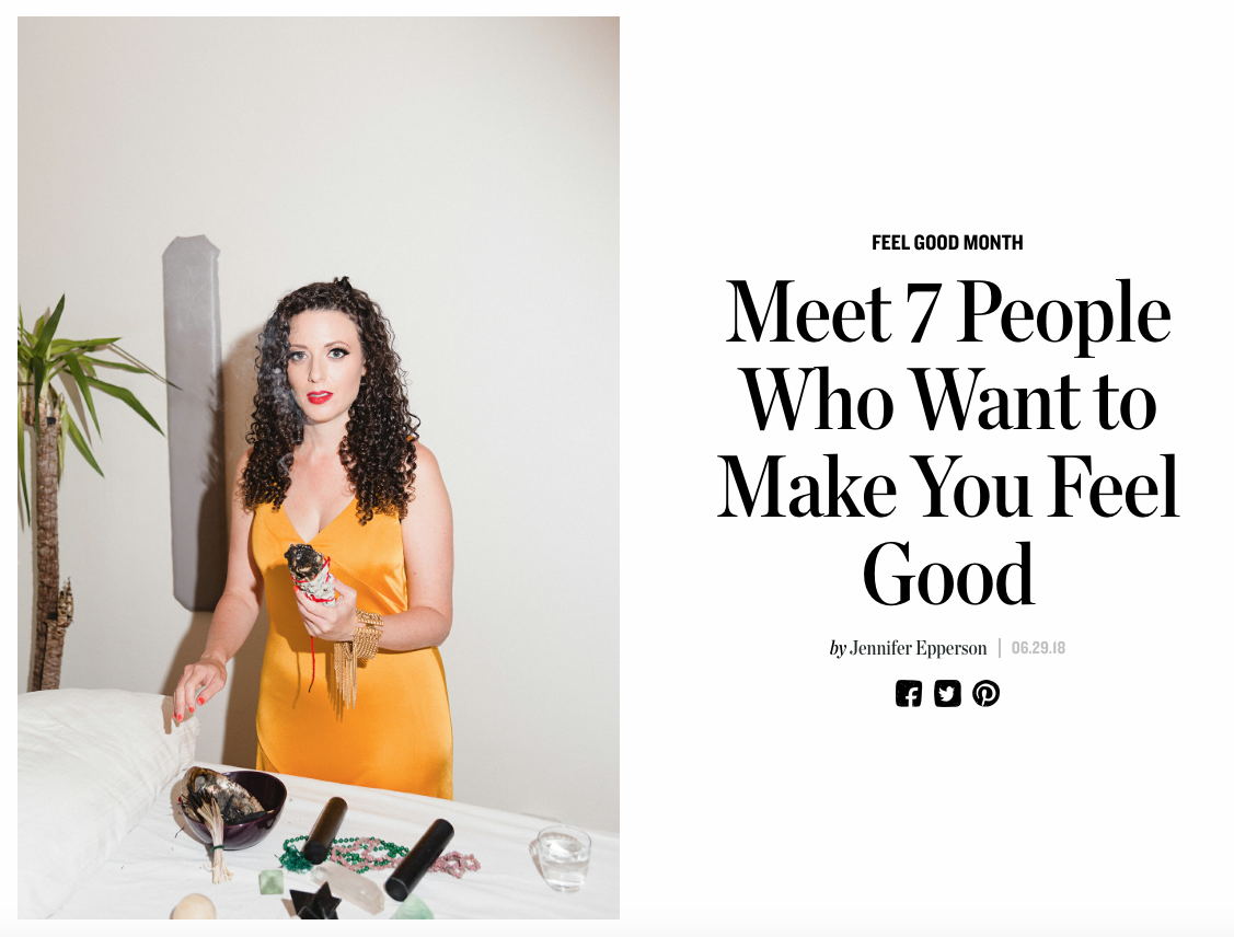Meet 7 People Who Want to Make You Feel Good