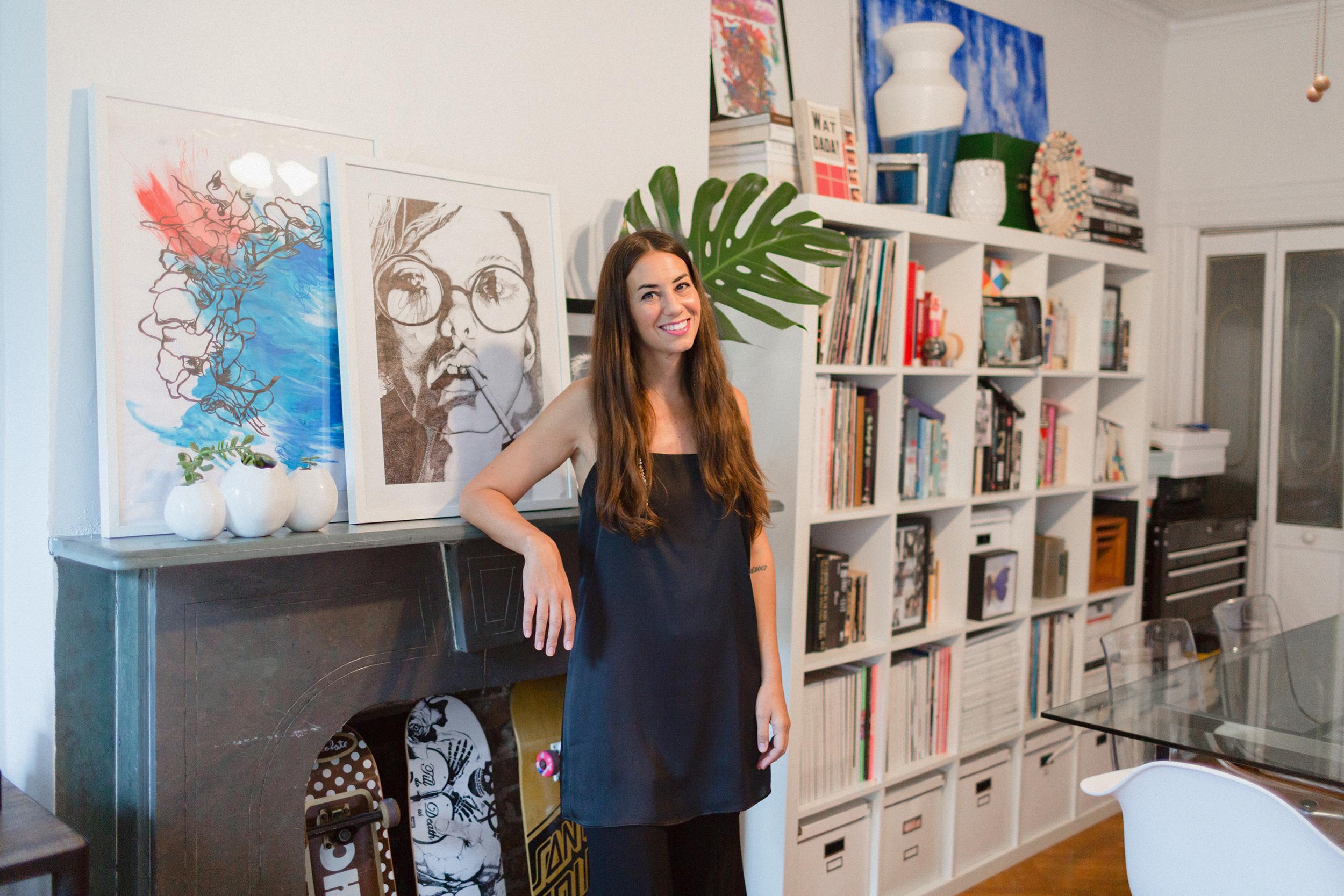 Amanda Assad Mounser, founder of MOUNSER