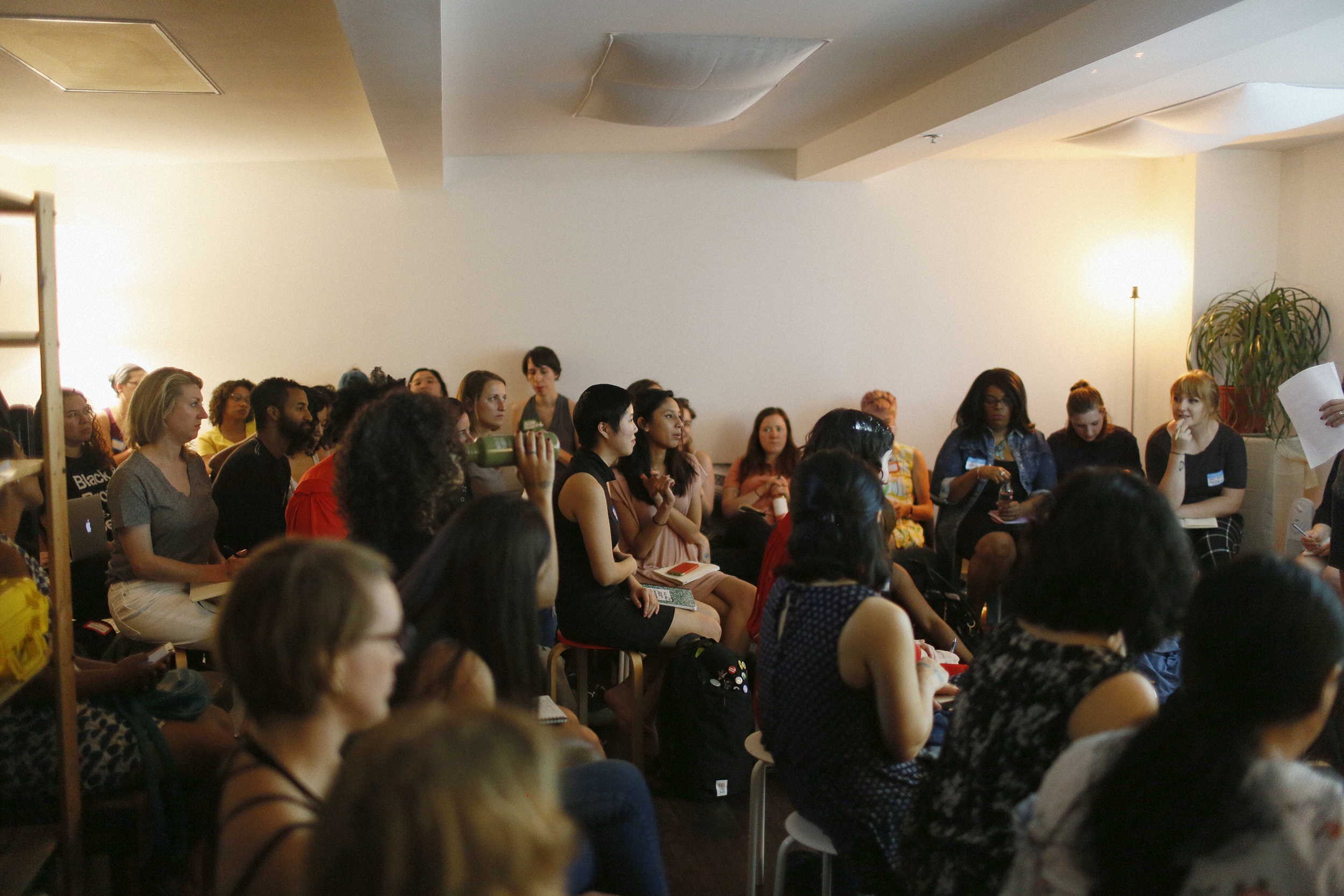Hustle Fest  at New Women Space Brooklyn, New York, 2017