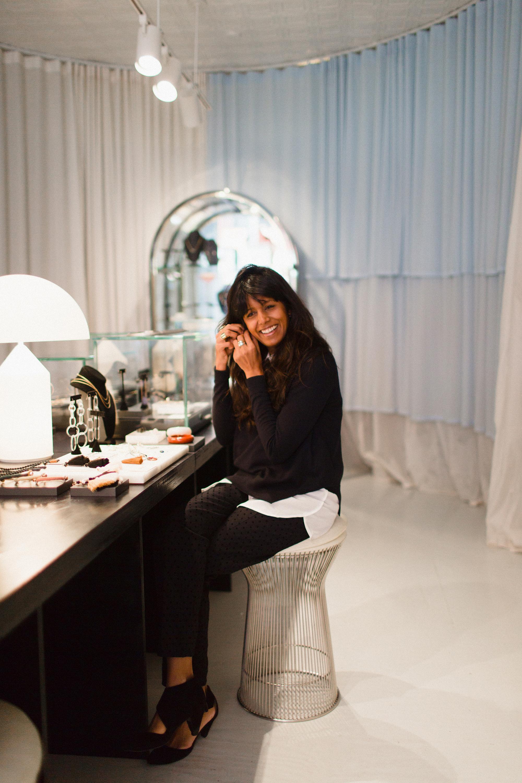 Reshma Patel, owner of Quiet Storms