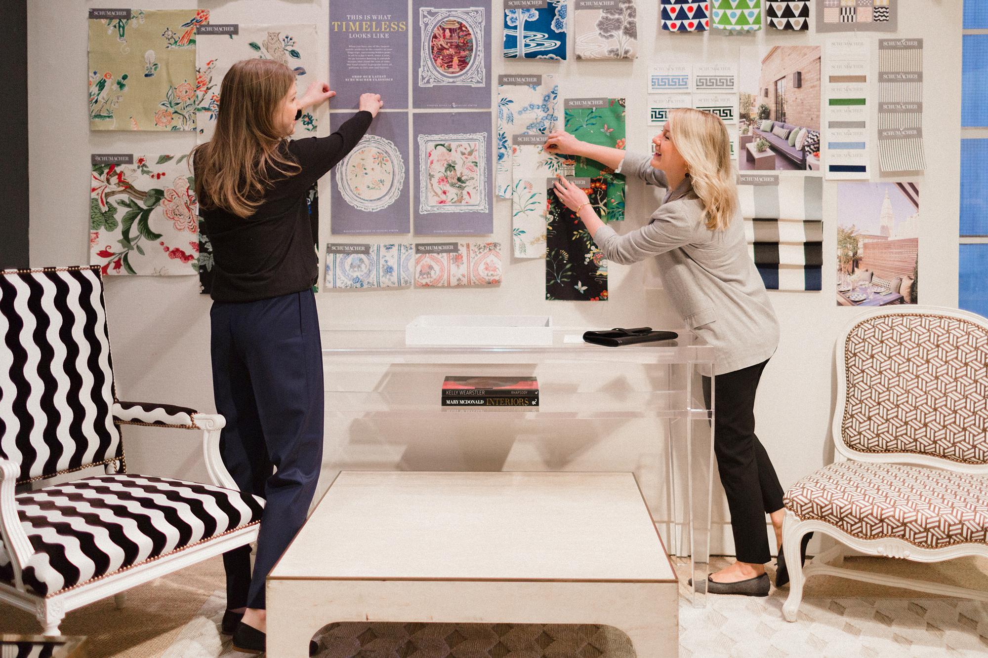 Alyssa Kapito and Vivian Muller of Kapito Muller Interior Design
