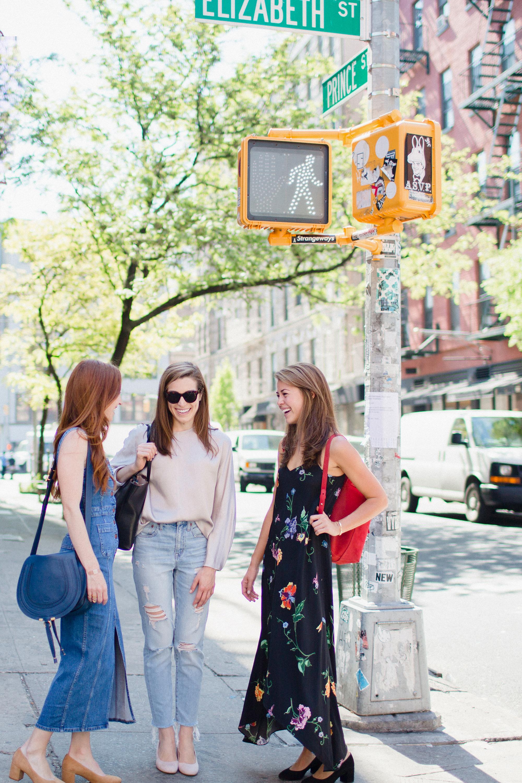 Sarah Slutsky with Alexa Buckley and Sarah Pierson