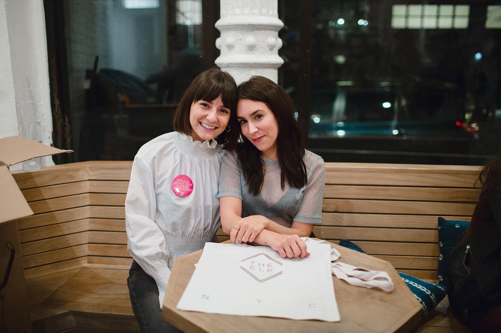 Lauren Caruso and Alyssa Coscarelli