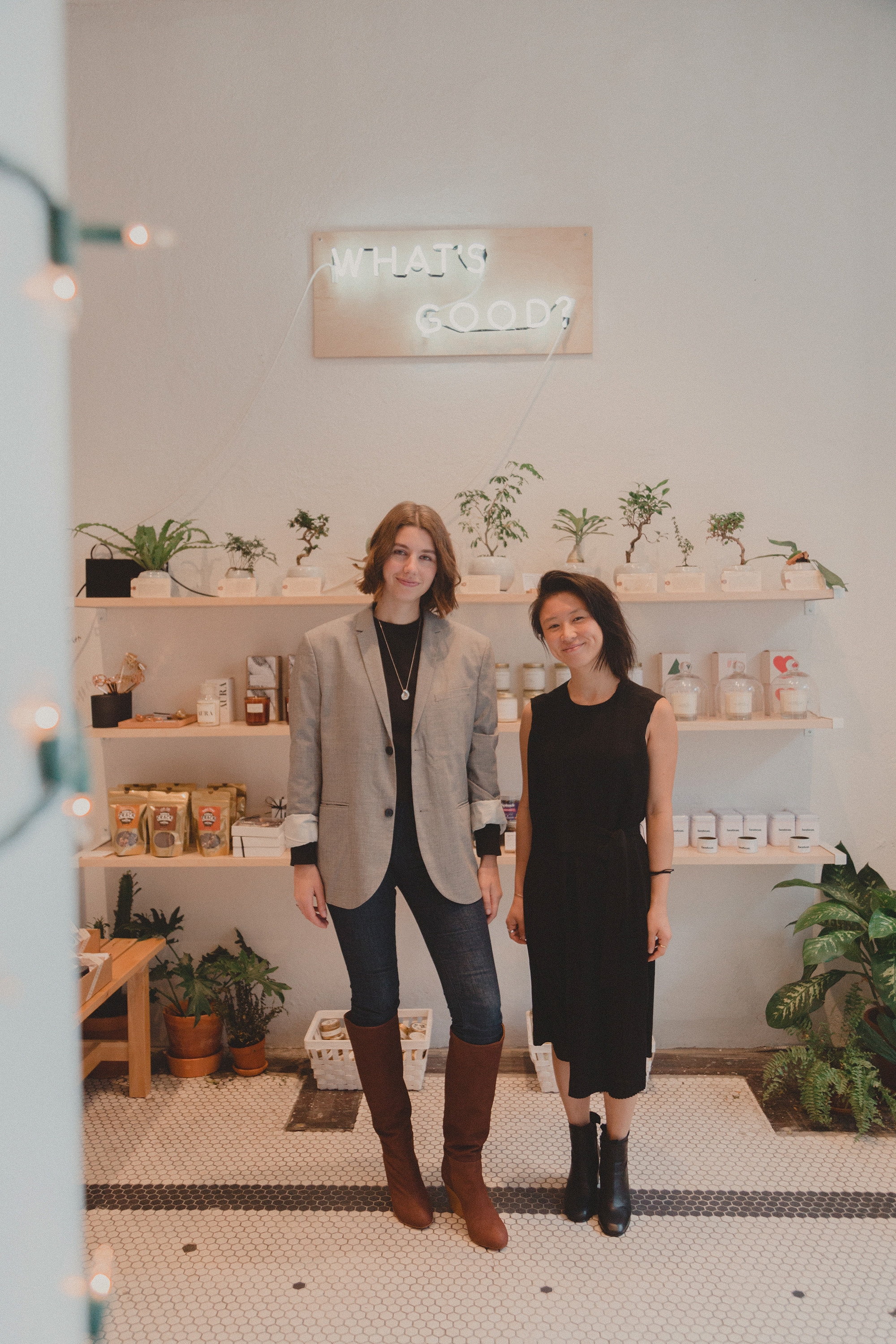 Robin Reetz and Rosa Ng at Good Goods