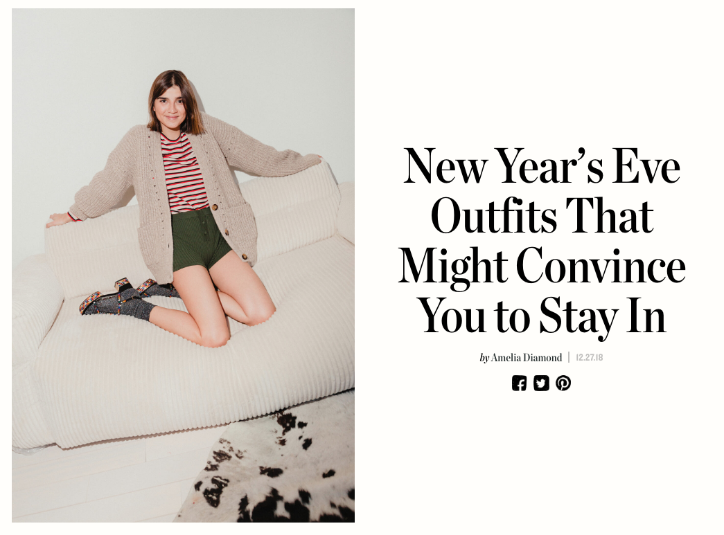 New Year's Eve Outfits That Might Convince You to Stay In