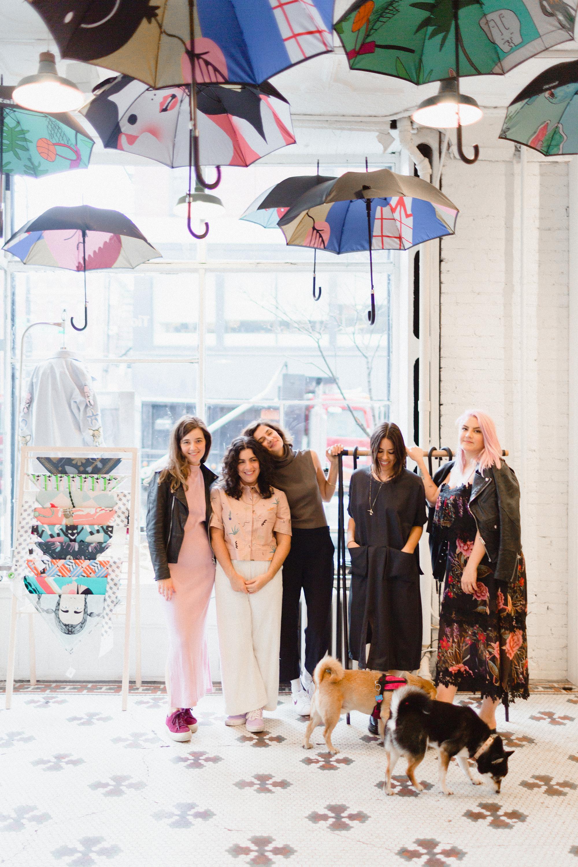 Briana Feigon, Rachel Fletcher, Katryna Jones, Wenonah Echelard, and Anna Decilveo