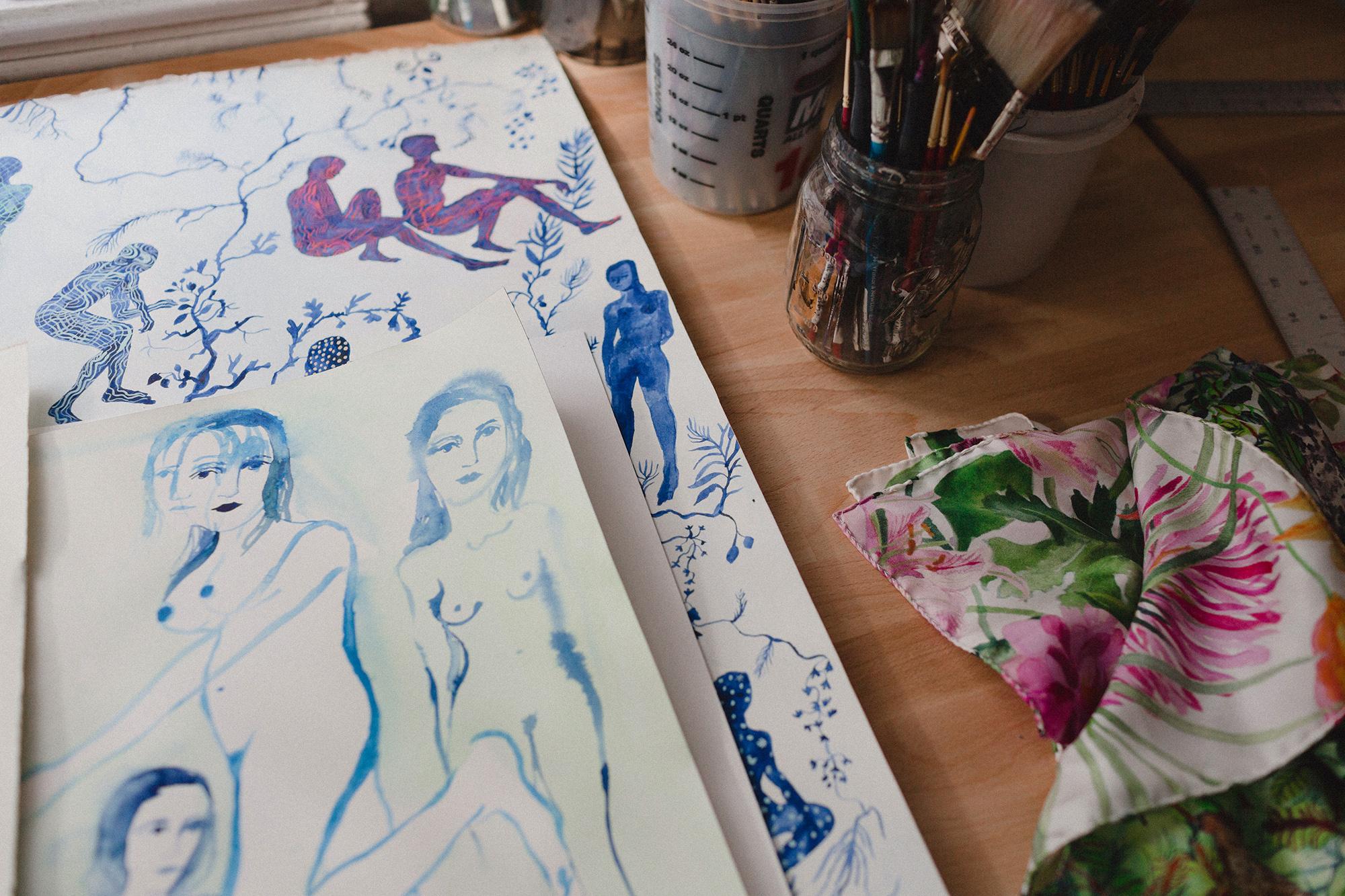 Olivia Wendel's Studio