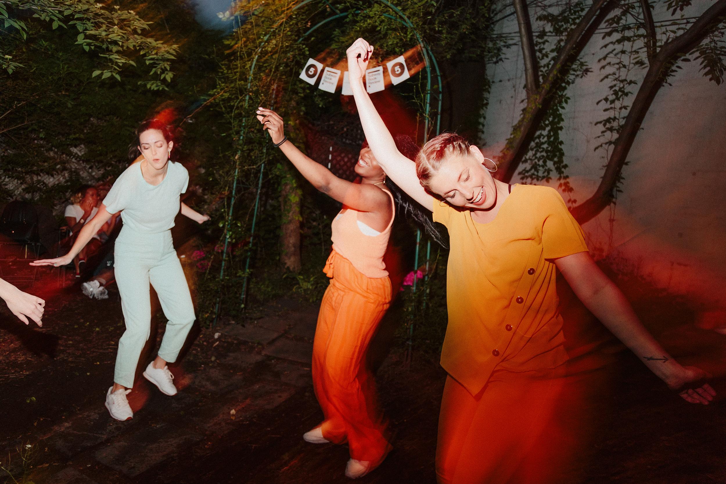 Christina Slāton, Kelsey Grills, & Adrianne Ansley