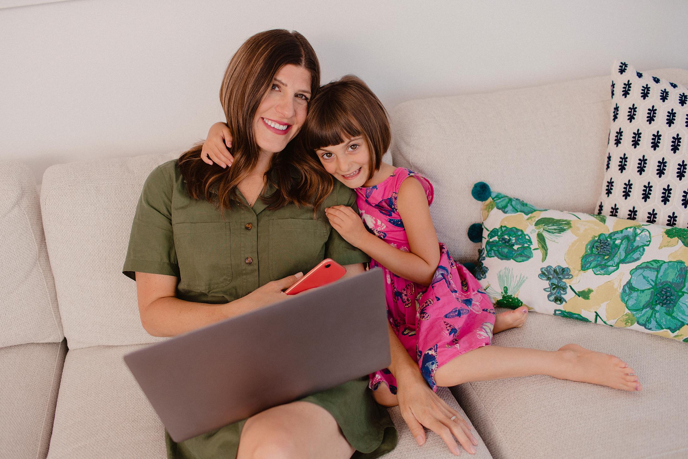 Ilana Wiles & daughter Harlow