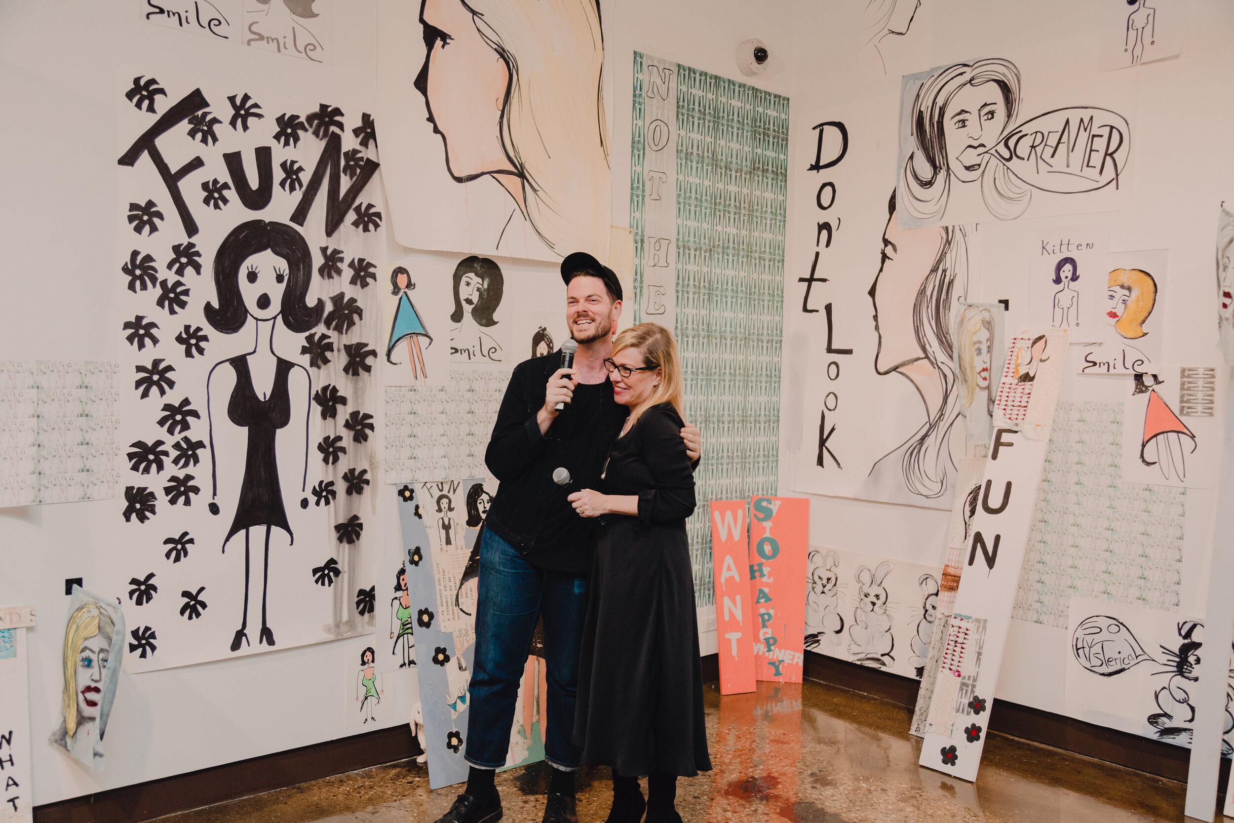 Adam J. Kurtz & Debbie Millman