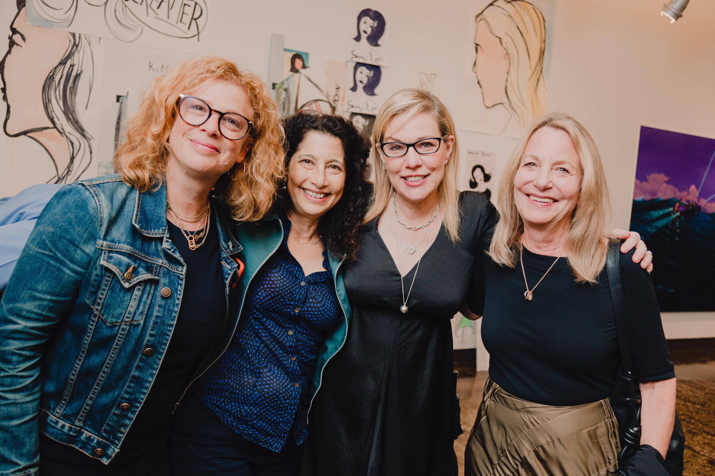 Emily Oberman, Chee Pearlman, Debbie Millman, and Paula Scher