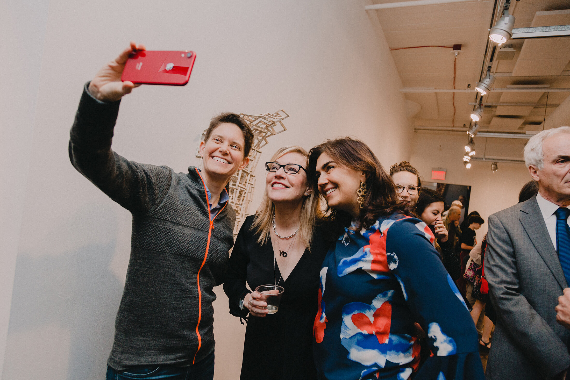 Opening Reception for   Look Both Ways: The Illicit Liaison Between Image and Information   SVA Chelsea Gallery, New York, 2019