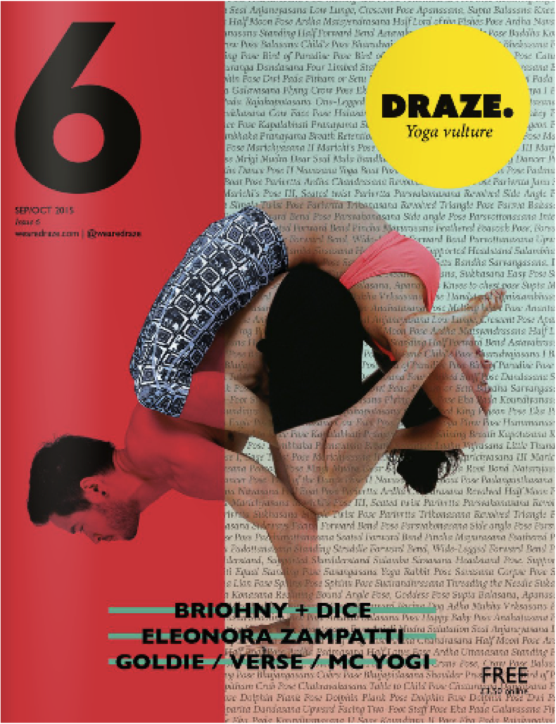 Draze Magazine examines Exhale to Inhale and Domestic Violence