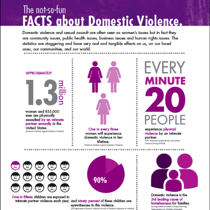 Facts about domestic violence in the US