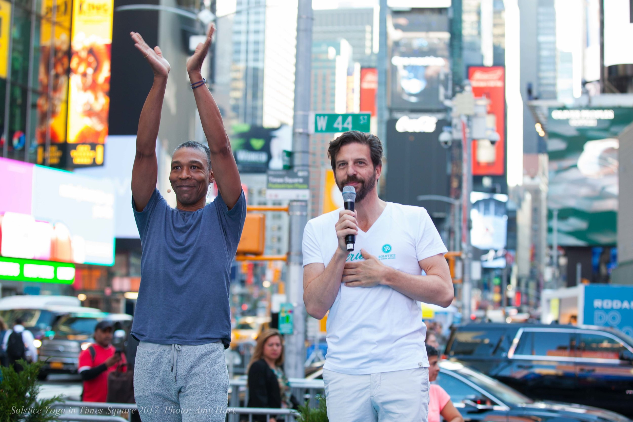 Douglass Stewart & Tim Tompkins, Co-Founders of Times Square: Mind Over Madness Yoga