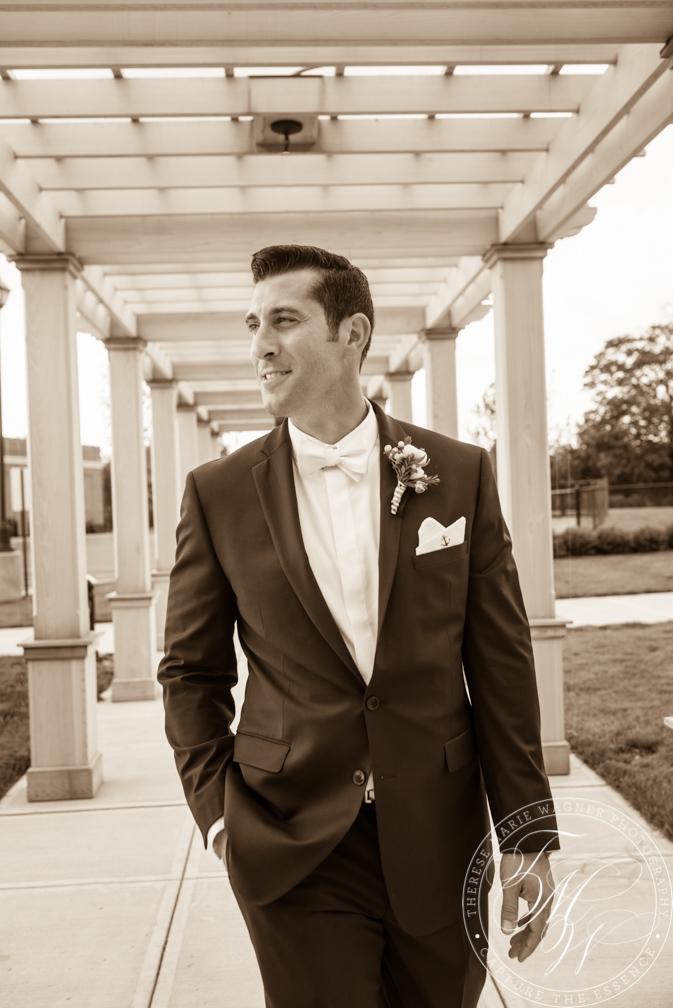 NJ Weddings Groom portrait