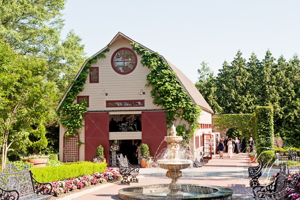 A luxurious summer wedding at the beautiful Ashford Estate in Allentown, NJ which is part of the exclusive Weddings of Distinction venues. Party planning by An Affair to Remember, flowers by Flowerful Events, catering by Merri-Makers and stationary by Stephanie Somodi.