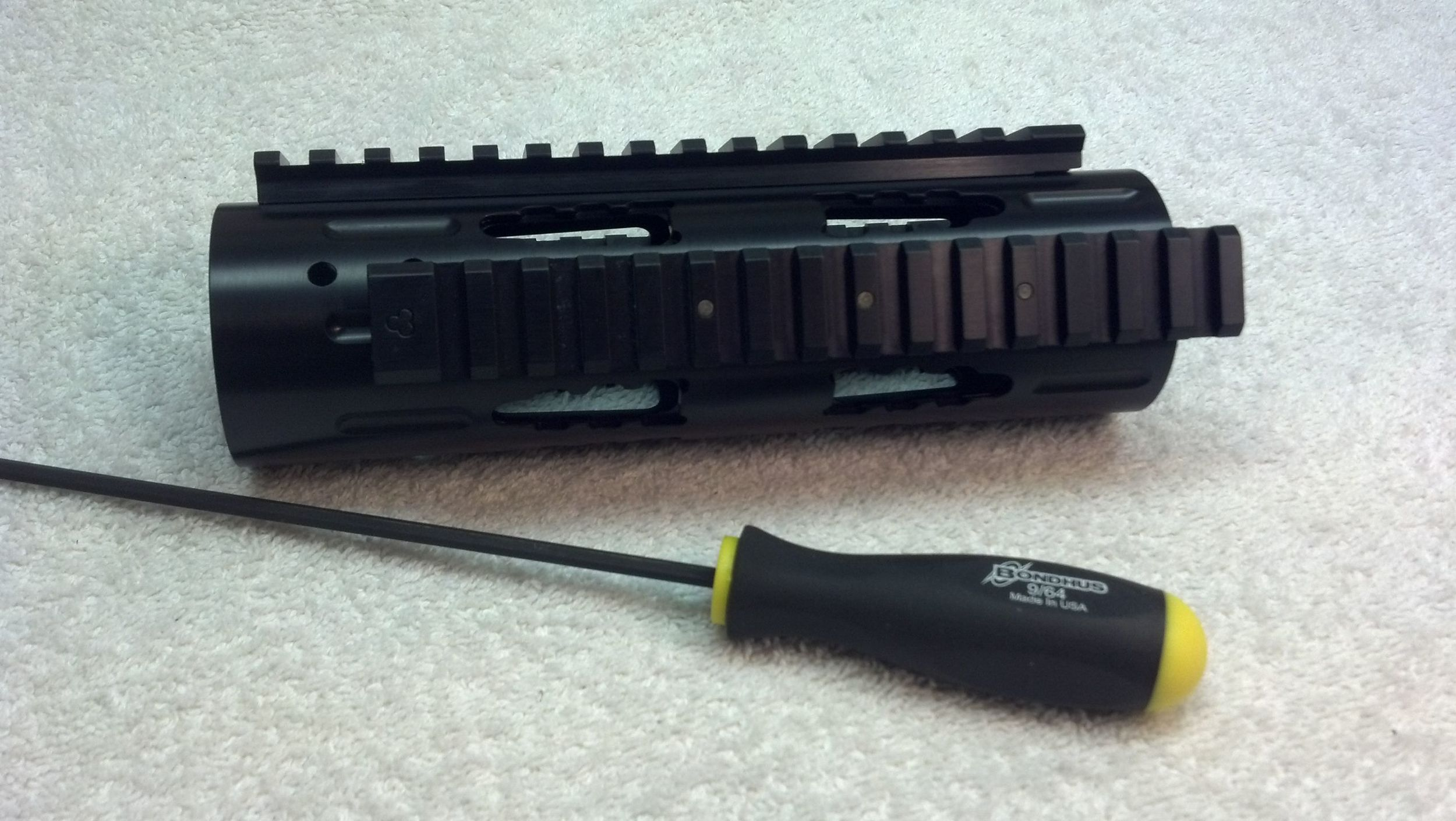 Carbine RRAC Tactical Handguard with Extended RRAC Rails