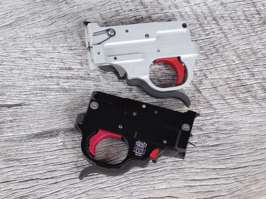 NEW  Grand Master Trigger Assembly with auto bolt release, Silver or Black: $349.95
