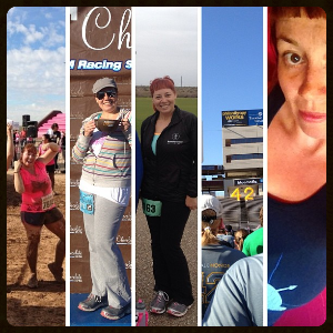 Celebrating Running Day with a year of running collage