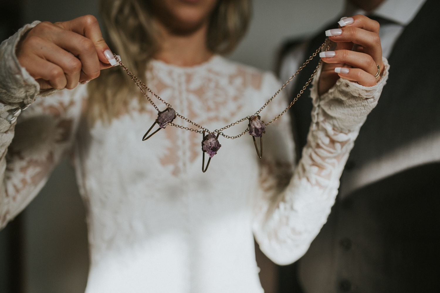 Sisters in Law wedding blog - Featured jewelry photographed by Love Stories Co.