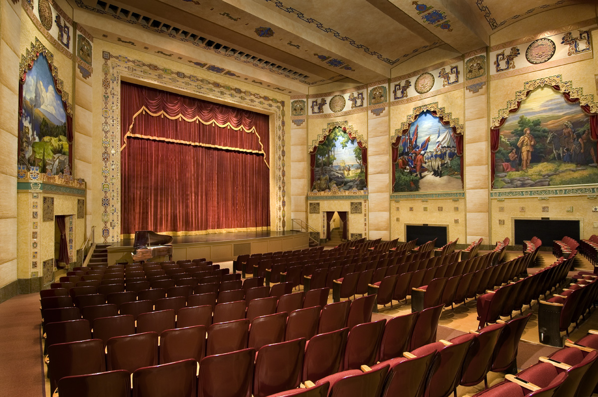 The Lincoln Theatre in Marion, Virginia