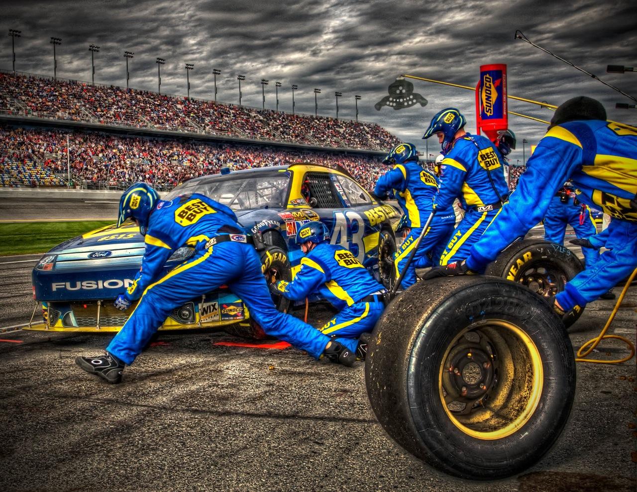 Best Buy car Las Vegas Motor Speedway