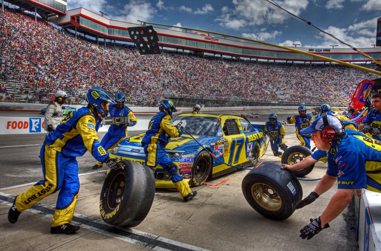 Best Buy NASCAR Bristol Motor Speedway