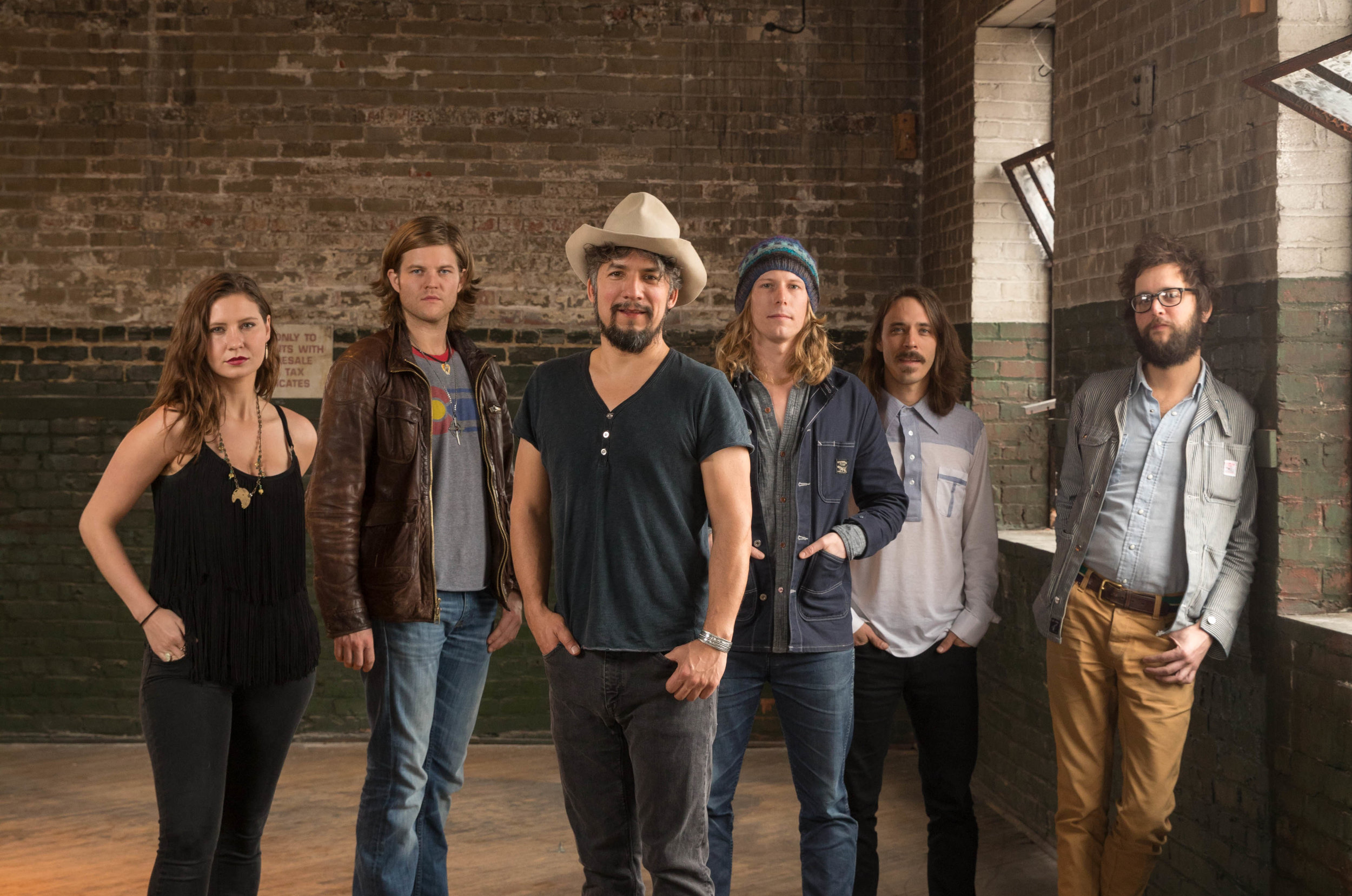 Black Lillies Before Image with 6 Members