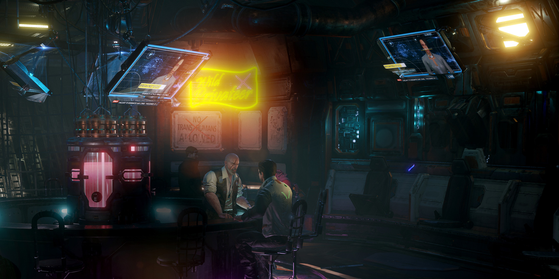 Dusty's Bar Lighting