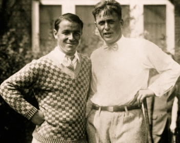 Gene Sarazen  with  Bobby Jones , 1923