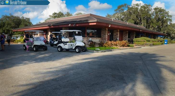 The clubhouse at Bobby Jones Golf Complex. Photographer: Dan Wagner courtesy of Sarasota Herald-Tribune.