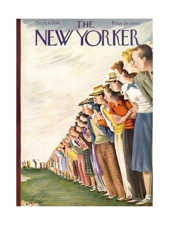 Constantin Alajalov  cover art,  The New Yorker,  September 4, 1948