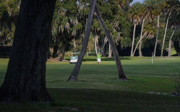 A golfer plays on the American course at Bobby Jones Golf Complex. A consultant's plan to improve the 1920s municipal golf course comes with a $21.6 million cost and various suggestions on how to proceed with some of the improvements. Photo Courtesy Sarasota Herald-Tribune