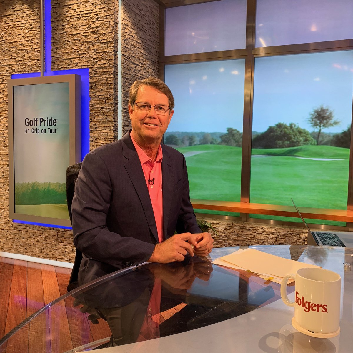 PAUL AZINGER  Photograph Courtesy of the Golf Channel