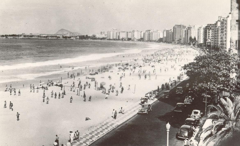 Nos anos 1940 era chique morar na Avenida Atlântica!